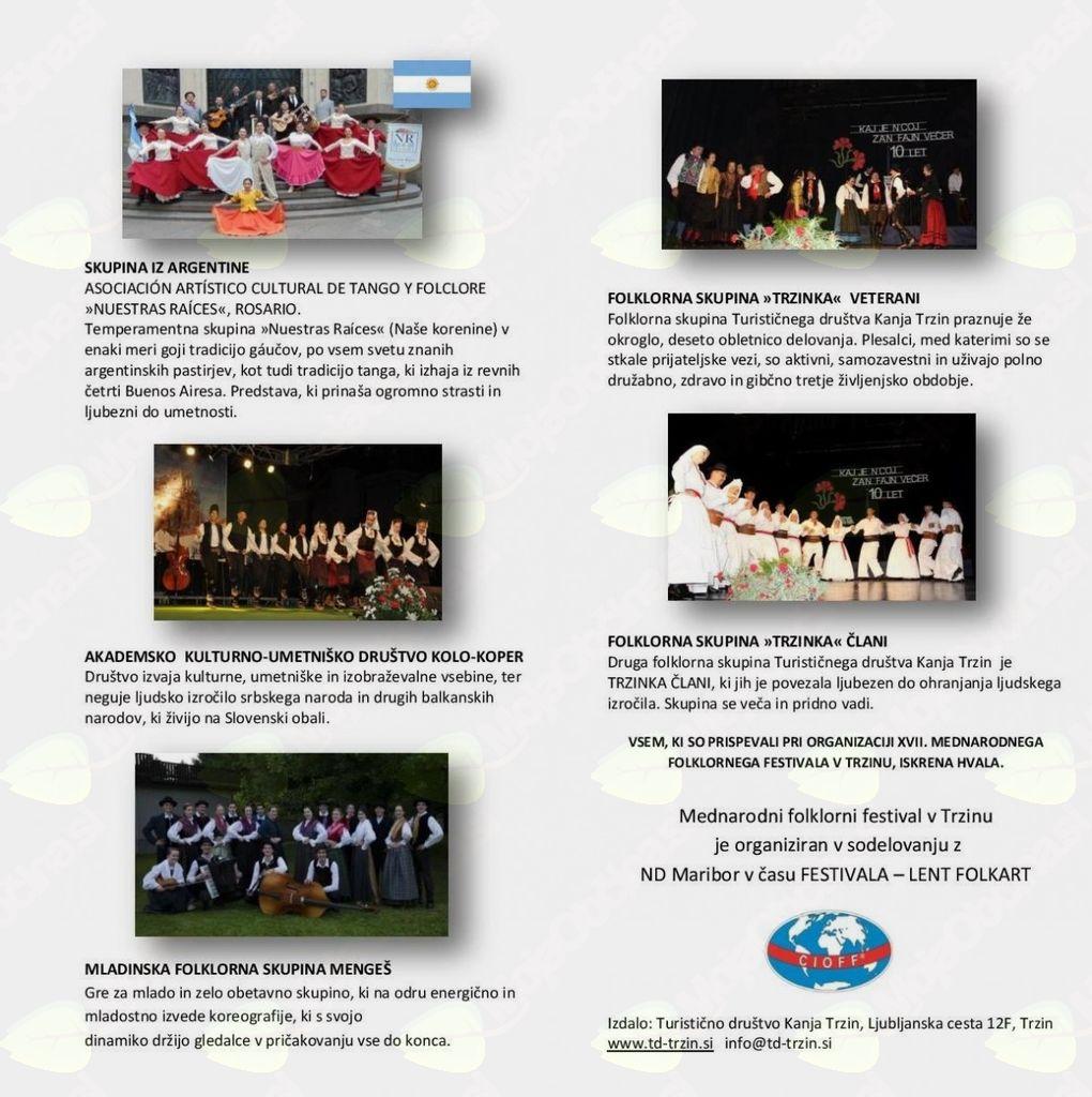 Mednarodni folklorni festival v Trzinu
