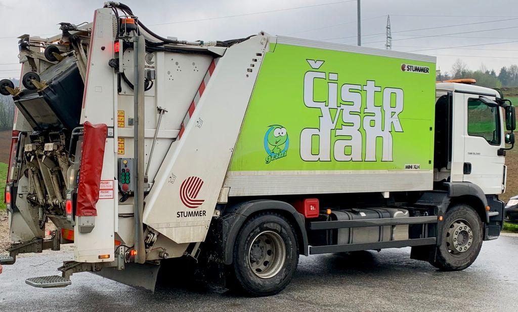 Obvestilo JKP Prodnik o spremembi odvoza mešanih komunalnih odpadkov in embalaže