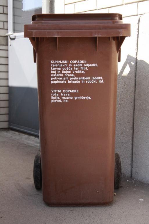 Obvestilo o spremembi urnika odvoza biološko razgradljivih odpadkov